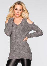 Strickpullover mit Cut-Outs, BODYFLIRT boutique