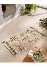 Teppich mit Cappuccino Motiv, bpc living bonprix collection