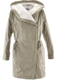 Leichter Parka mit Teddy-Futter, bpc bonprix collection, new khaki