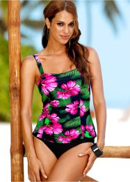 Tankini (2-tlg. Set), bpc selection, pink/grün