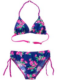 Bikini Mädchen (2-tlg. Set), bpc bonprix collection, blau
