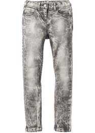Super Skinny-Jeans mit hoher Taille, John Baner JEANSWEAR, grey denim
