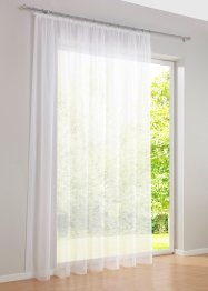 Transparente Gardine einfarbig, bpc living bonprix collection