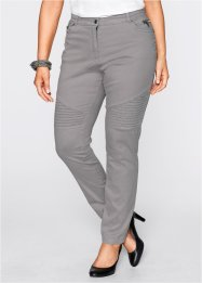 Stretchjeans in Used-Optik, bpc selection, grau