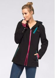 Stretch-Softshell-Jacke, bpc bonprix collection, dunkelblau
