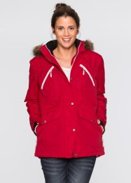 Funktions-Outdoorjacke, bpc bonprix collection, dunkelrot