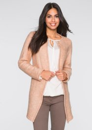 Shirtjacke in Wolloptik, BODYFLIRT, zartrosa