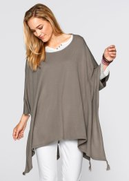 Poncho-Pullover mit Zipfel, bpc bonprix collection