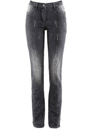 Stretch-Jeans mit Druck, bpc selection