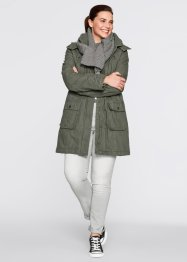 Parka, bpc bonprix collection, dunkeloliv