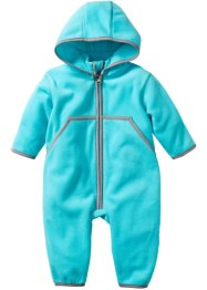 Baby Fleeceoverall, bpc bonprix collection, aqua
