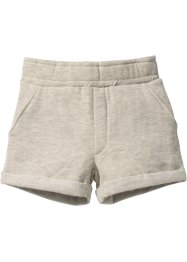 Sweatshorts, bpc bonprix collection, naturmeliert