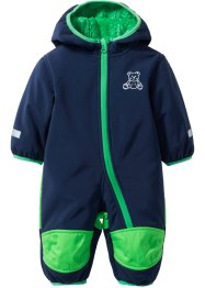 Baby Softshell-Overall, bpc bonprix collection, dunkelblau