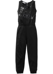 Jumpsuit mit Paillettenapplikation, bpc bonprix collection