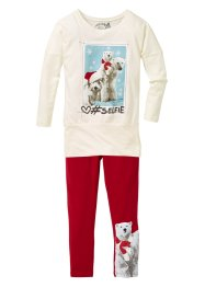 Longshirt und Leggings (2-tlg. Set), bpc bonprix collection