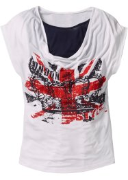 T-Shirt, bpc bonprix collection, weiss
