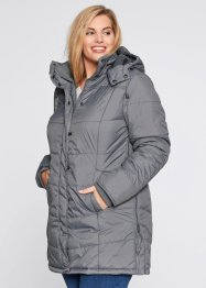 Steppjacke, bpc bonprix collection, rauchgrau