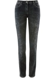 Figurformende Stretch-Jeans im Used-Look, bpc bonprix collection