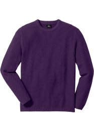 Pullover Regular Fit, bpc bonprix collection, weinbeere