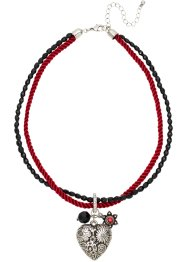 "Kette ""Oktoberfest"", bpc bonprix collection, rot/schwarz"