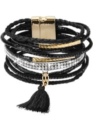 Breites Armband mit Troddel, bpc bonprix collection