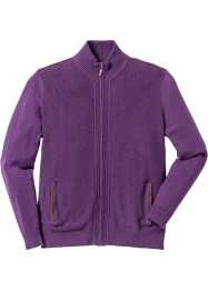 Strickjacke Regular Fit, bpc selection, weinbeere