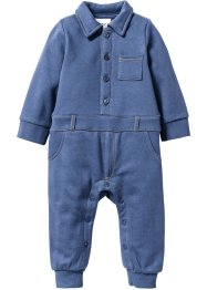 Baby Sweat Overall, bpc bonprix collection, indigo