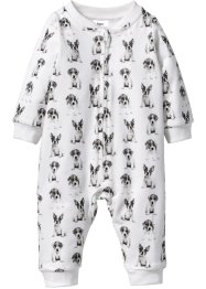 Baby Sweat Overall mit Fotodruck Bio-Baumwolle, bpc bonprix collection