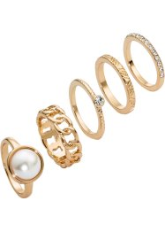 5tlg. Ringset, bpc bonprix collection