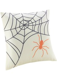"Kissenbezug ""Spinne"", bpc living, creme/orange"