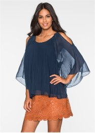 Cold-Shoulder Bluse, BODYFLIRT, dunkelblau