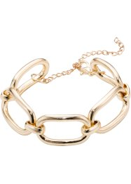 Gliederarmband, bpc bonprix collection, goldfarben