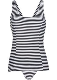 Tankini, bpc bonprix collection, schwarz/weiß gestreift