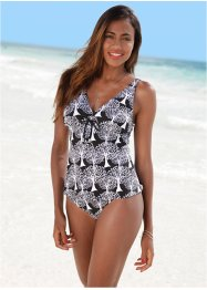 Tankini, bpc bonprix collection, blau/weiß