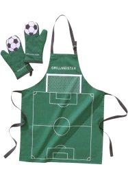 "Grillset ""Fussball"" (3-tlg. Set), bpc living"