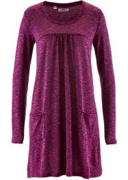 Langarm-Shirt-Kleid in Melange-Optik, bpc bonprix collection