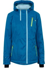 Outdoorjacke, bpc bonprix collection, atlantikblau meliert