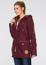 Funktions-Outdoorjacke mit recyceltem Material