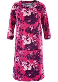 Kleid, 3/4-Arm - designt von Maite Kelly, bpc bonprix collection, mattpink bedruckt
