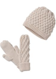 Set Beanie und Handschuhe, bpc bonprix collection