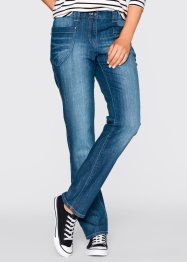 Stretch-Jeans mit Elastikbund, bpc bonprix collection, blue stone
