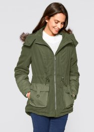 Parka, bpc bonprix collection, marsalabraun