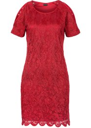 Spitzenkleid mit Cut-Out, BODYFLIRT, rot