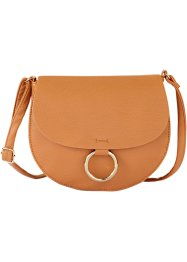 Schultertasche, bpc bonprix collection, cognac