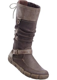 Bequemer Weitschaftstiefel, bpc selection, taupe