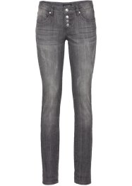 Stretchjeans im Used-Look, BODYFLIRT, grey denim used