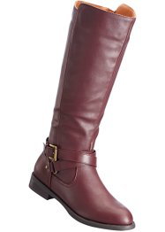 Stiefel in 2 Weiten, bpc bonprix collection, bordeaux