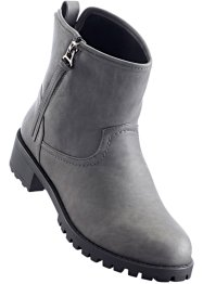 Stiefelette, bpc bonprix collection, dunkelgrau