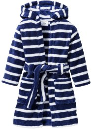 Teddyfleece-Bademantel, bpc bonprix collection, mitternachtsblau