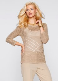 Pullover, bpc selection, beige